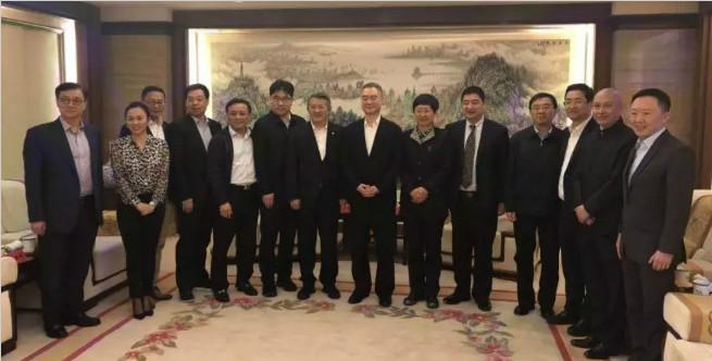raybet雷电竞app委常委、青岛市委书记王清宪在府新大厦会见楚商